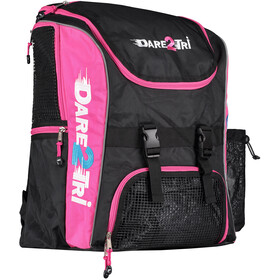 Dare2Tri Transition Rugzak 33L, black/pink